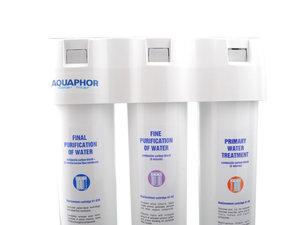 Meervoudig keuken inbouw waterfilter - met Aqualen® + hollevatensysteem - Aquaphor