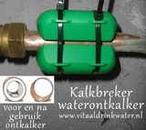 Kalkbreker Waterontkalker - koper waterleiding alle hardheden_