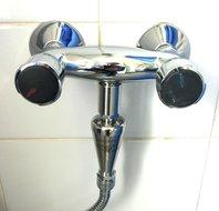 Geïnstalleerde douche vitaliser